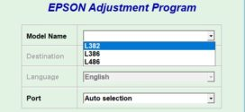 Epson L382/L386/L486 Adjustment Program